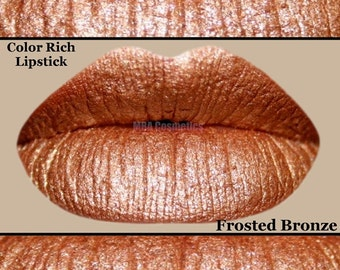 Frosted Bronze Color Rich Lipstick