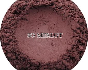 Loose Mineral Eyeshadow-So Merlot