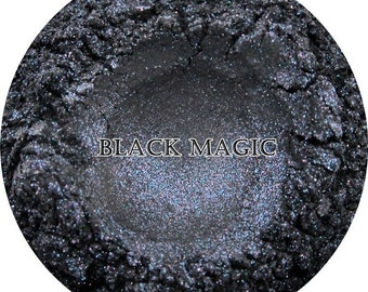 Loose Mineral Eye Shadow-Black Magic-Twinkle FX