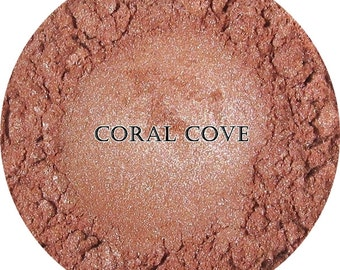 Loose Mineral Eyeshadow-Coral Cove