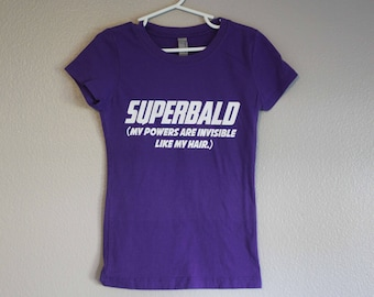 Super Bald Girls' T-shirt