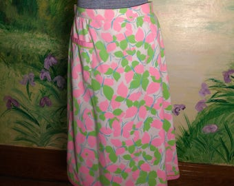 Pink and Green, Butterfly Skirt