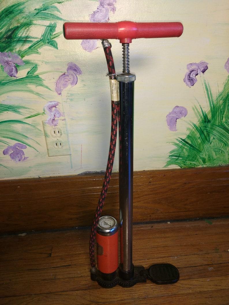 Funky Vintage Bicycle Pump
