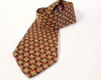 Vintage Men's silk necktie JoS. A. Bank Executive Collection