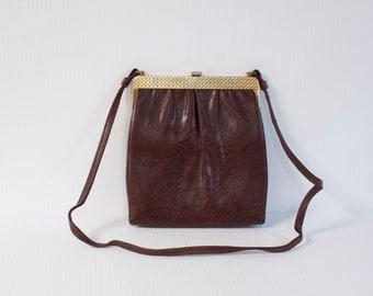 Vintage clutch, Vintage Burgandy  Evening Purse by Mardane USA