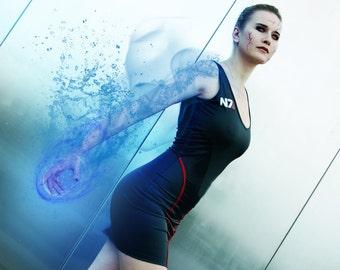 N7 Femshep Dress Mass Effect