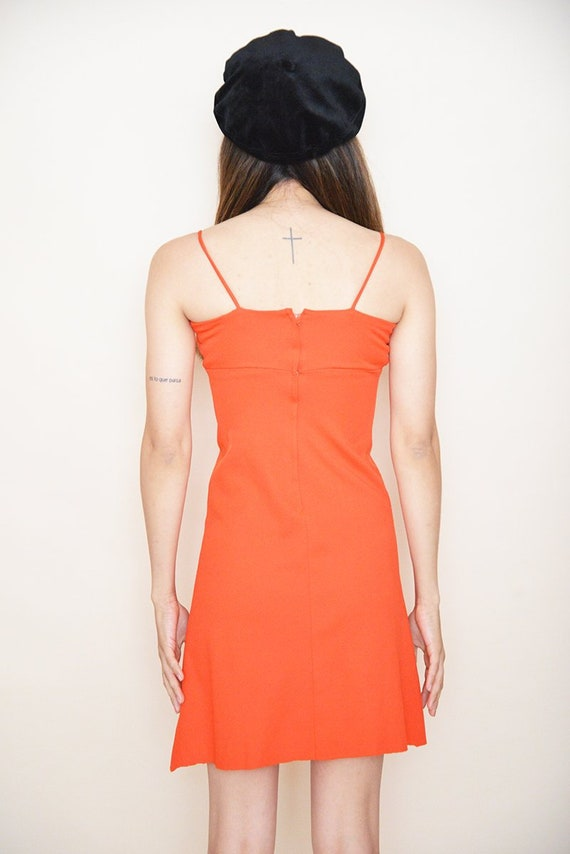 Red Party Dress - image 4
