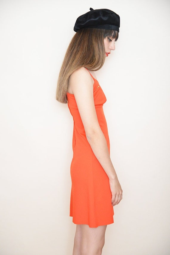 Red Party Dress - image 3