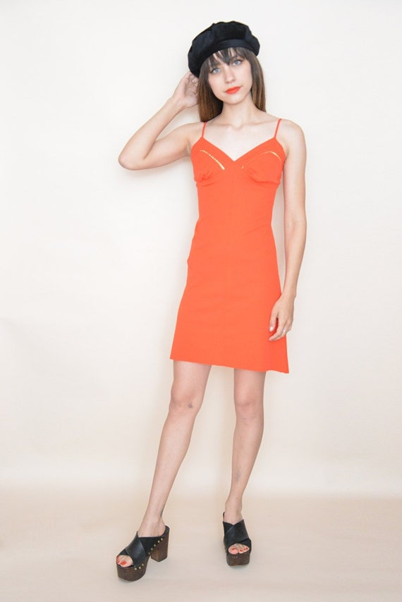 Red Party Dress - image 2