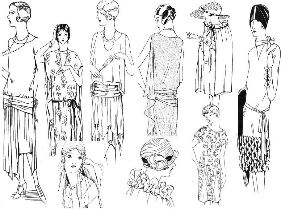 ruth wyeth spears sewing collection flapper style etsy Vintage Dresses 1920 50