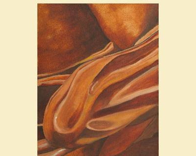 "Fine Art Giclee Print ""Apollo's Arm"" print of original work by Christine Wallbom, free shipping"