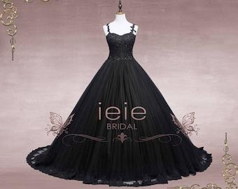 Black wedding dress etsy popular items for black wedding dress junglespirit Gallery