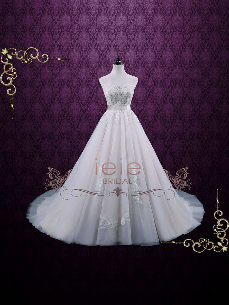 f5849362b74 Champagne V Neck Princess Tulle Ball Gown Wedding Dress