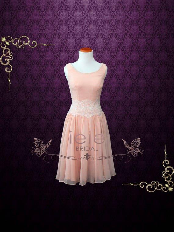 Dirty Dancing rosa Chiffon Tanzkleid Abendkleid Rosa Dres. | Etsy