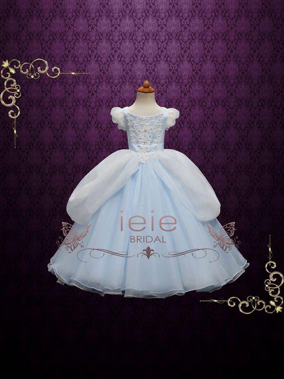Mädchen Cinderella Ballkleid Partei Kleid Mädchen