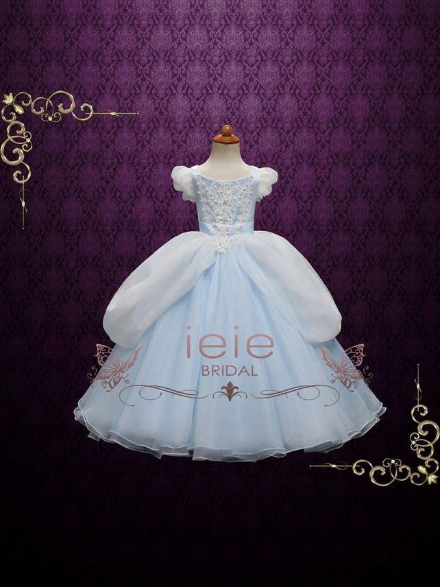 Girl Cinderella Ball Gown Party Dress Girl Cinderella Dress   Etsy