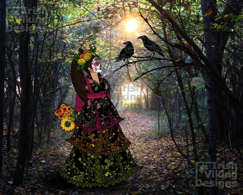 Rosa Maria and the Path to Dia de los Muertos Mexican image 0