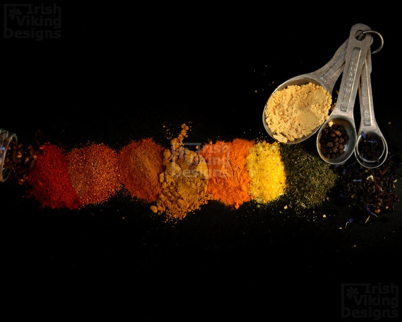 Spiced Rainbow kitchen art print chiaroscuro fine art image 0