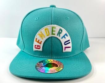 Genderful Twill Snapback Cap