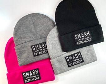 Smash the Patriarchy Knit Beanie