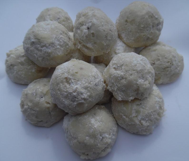 Polvorones Mexican Wedding Cookies Hispanic Homemade