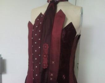 Tunic, strapless dress