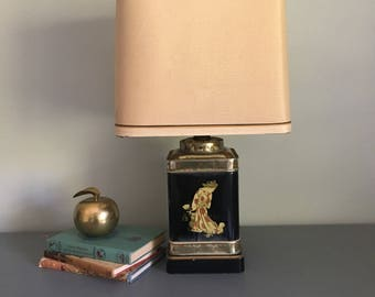 Frederick cooper etsy frederick cooper table lamp vintage tea canister lamp mozeypictures Gallery