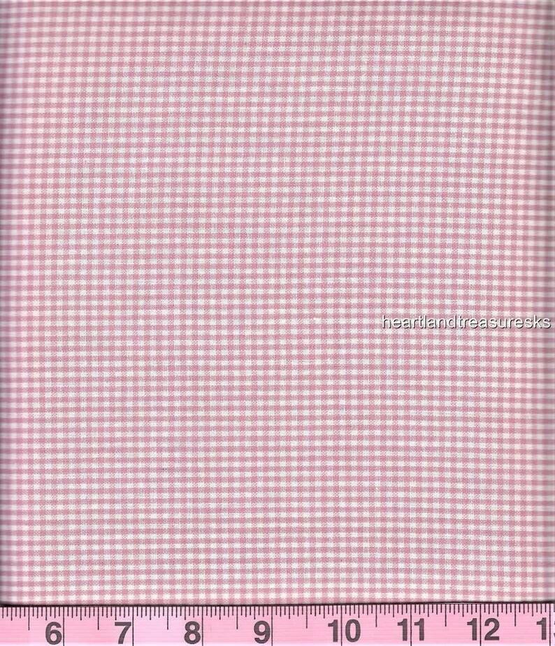 Dunroven House H-43A  Homespun Mini Green ~ Wheat Plaid Fabric ~ You Pick