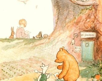 NEW Classic Winnie the Pooh Prints