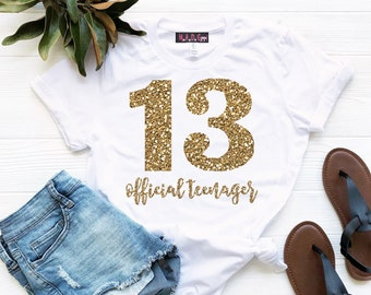 13th Birthday Shirts