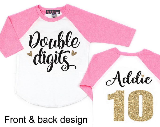 10 Double Digits Shirts