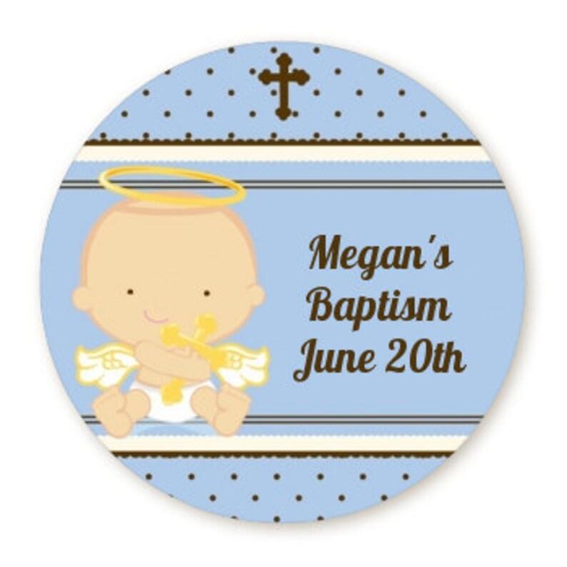 25 Personnalisé Baptême vous remercier pour venir à ma fête Stickers Animaux