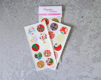 Chiyogami Stickers