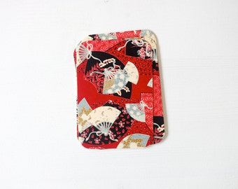 Japanese Fan Chiyogami Note Card Set . Save The Date Cards . Invitations . no.94