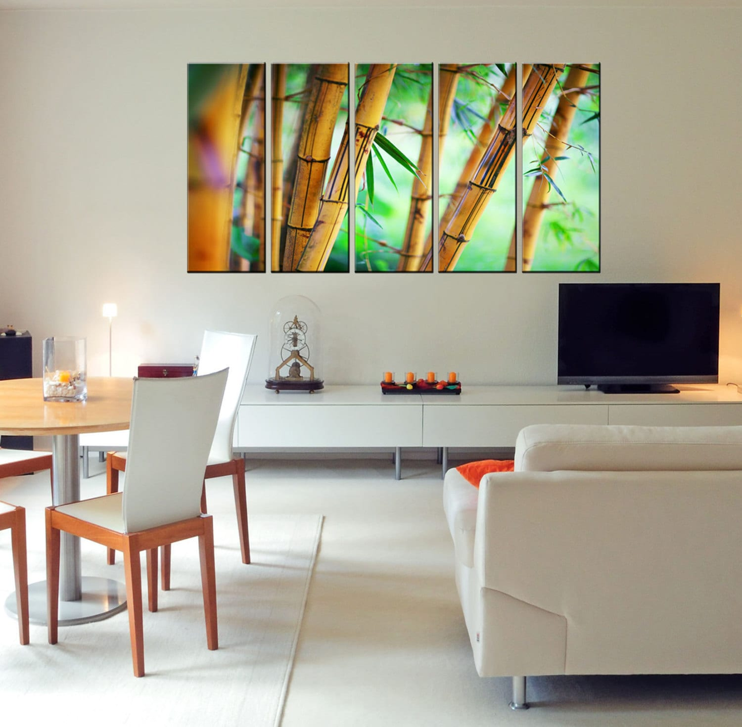 Canvas Art Prints Bamboo Wall Art Bamboo Canvas Photo Print
