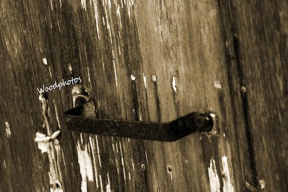 Old Barn Door Handle Home Wall Decor Digital Download Etsy