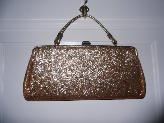 Good as Gold Glitter Clutch Bag Free Shipping  ed19761b97b3