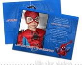 Items Similar To Spiderman Custom Photo Birthday