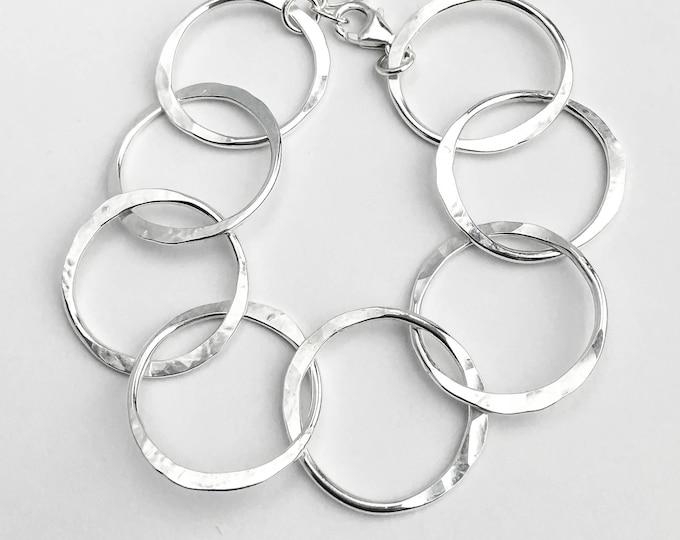 Big Circle Link Bracelet