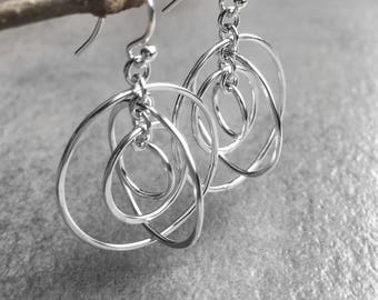 Circle Orbit Earrings