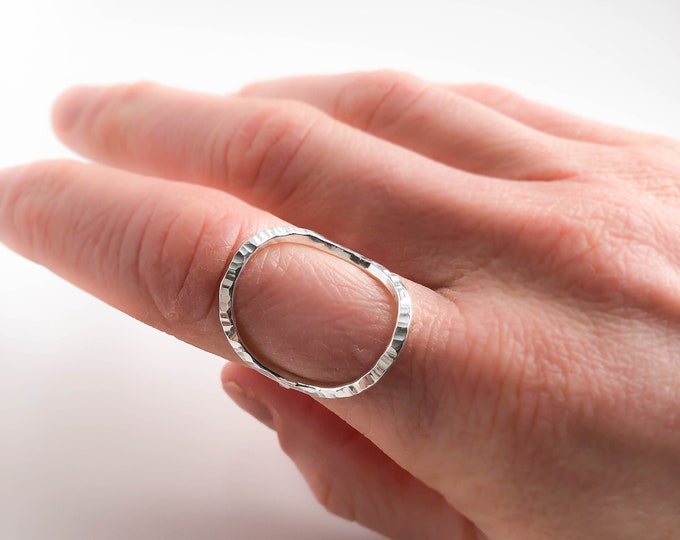 Big Open Circle Ring
