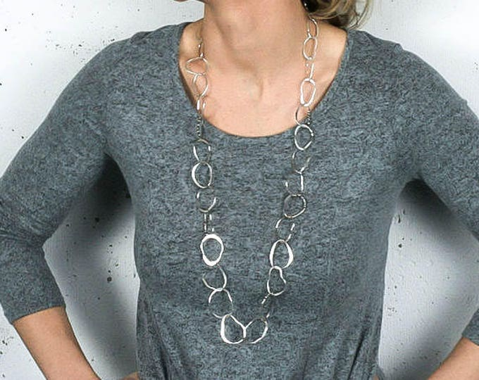 Chunky Handmade Chain Necklace