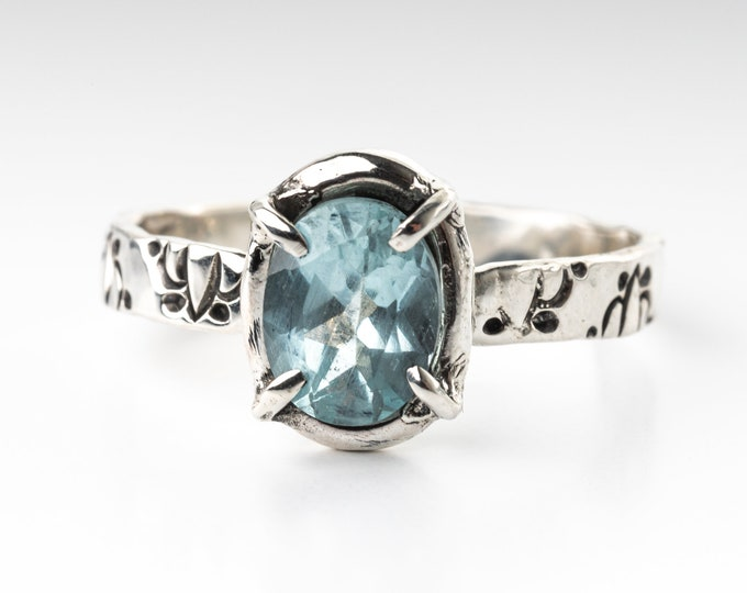 Aquamarine Ring - Size 11