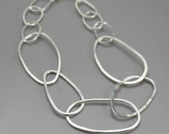 Big Link Silver Chain