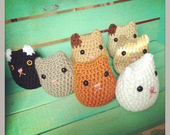 Crocheted Cat Doll