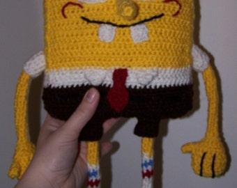 Crocheted Spongebob Squarepants Pattern