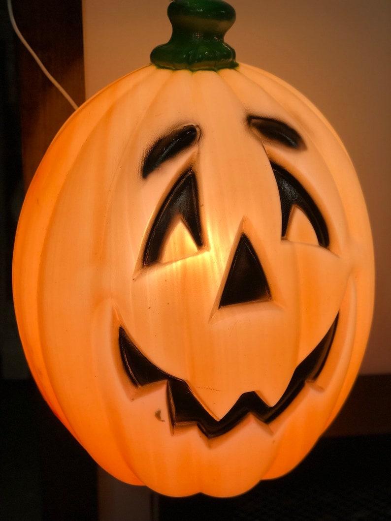 Large General Foam Plastics Pumpkin Jack-o-Lantern Blow Mold