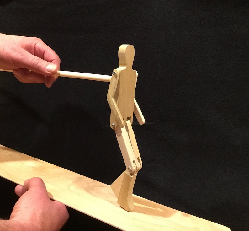 Limberjack Man with dancing board and stick image 0