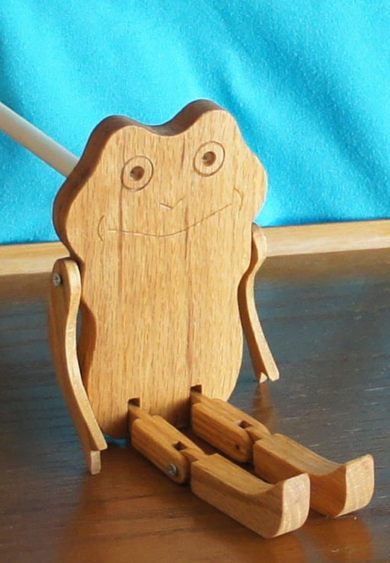 Limberjack Frog with dancing board and stick image 0