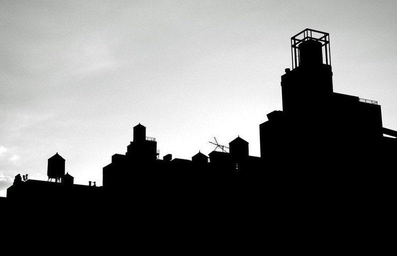 Water Towers  New York City  Fine Art Photograph Print image 0